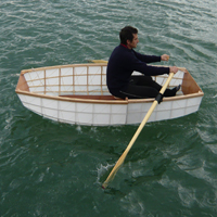 the world's lightest nesting dinghy